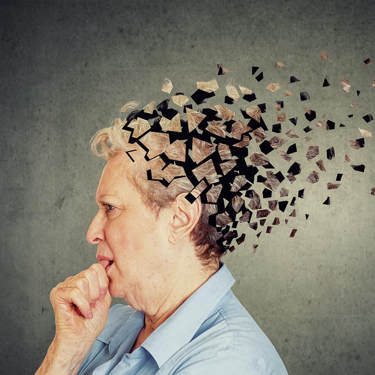認知症と間違われることが多い