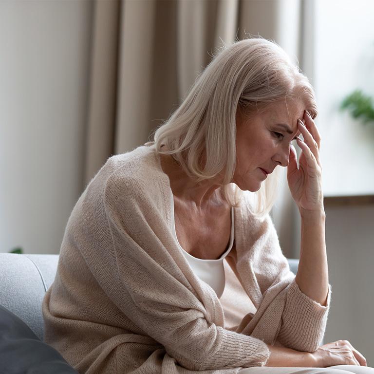 高齢者特有の病気「老人性うつ」とは?